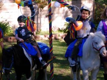 knight-pony-party